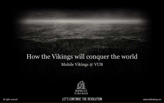 Mobile Vikings @ vub
