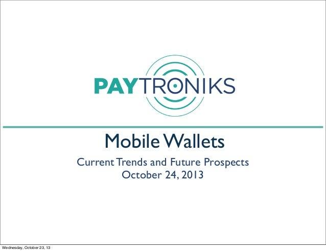 Mobile wallet presentation