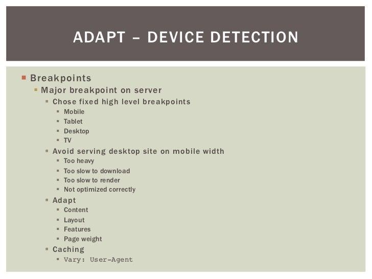 Mobile Tablet Desktop Desktop Site on Mobile