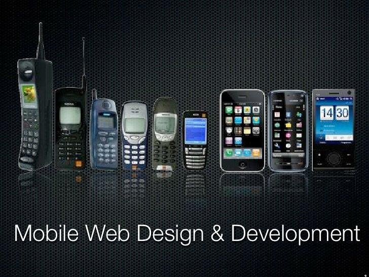 Mobile Web Design & Development 2011