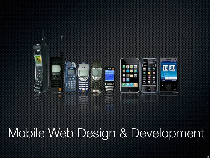 Mobile Web Design & Development 2012 Lecture