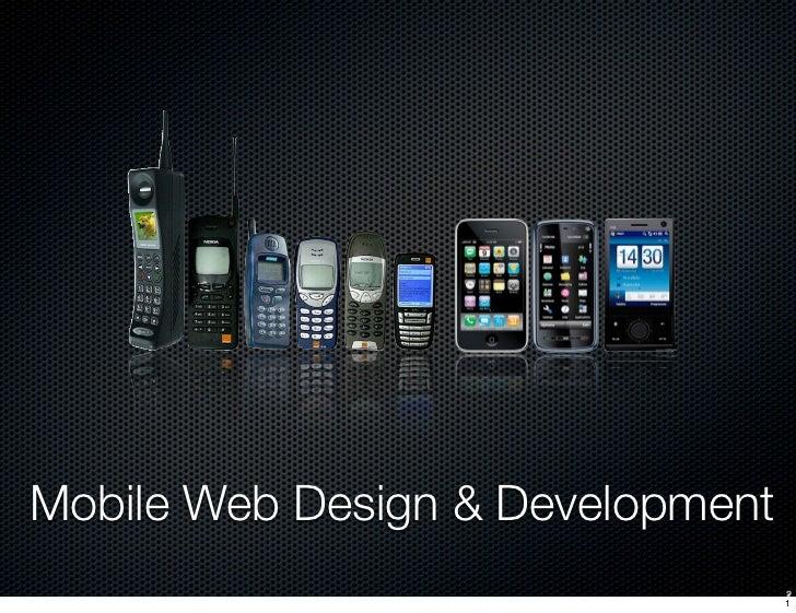 Mobile Web Design & Development 2012 Lecture