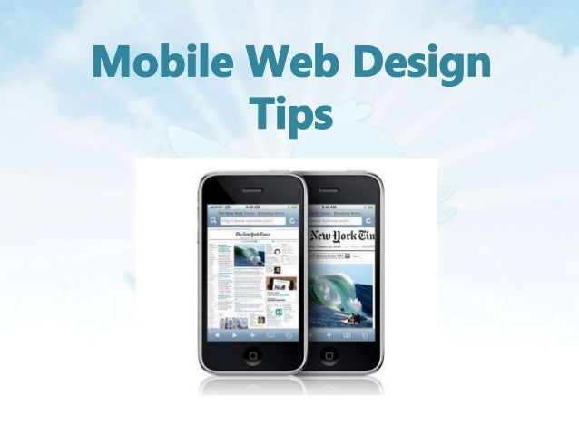 • The mobile world contains a rich variation of design considerations from different screen sizes and resolution to a vari...
