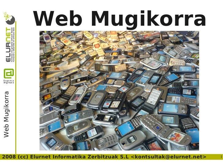 Mobile Web Enpresadigitala Euskaraz