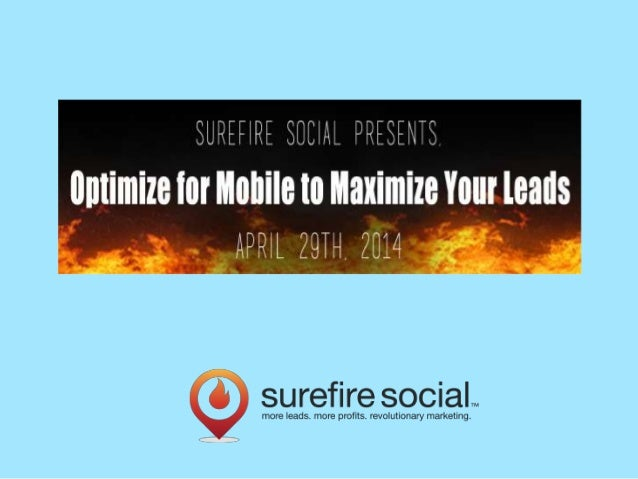 Table of Contents 1. Mobile & Your Website 2. Mobile & Local 3. Mobile & Social 4. Mobile in Your Workflow PLUS: How we ca...