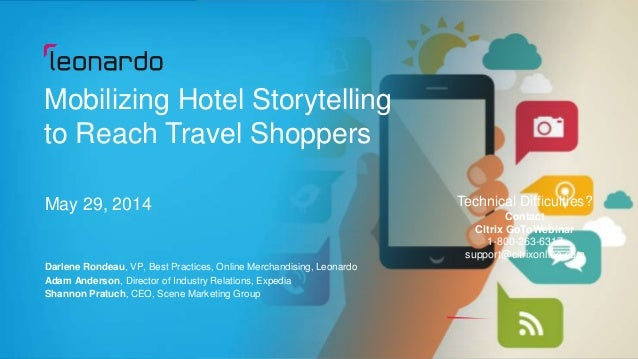 Mobilizing Hotel Storytelling to Reach Travel Shoppers