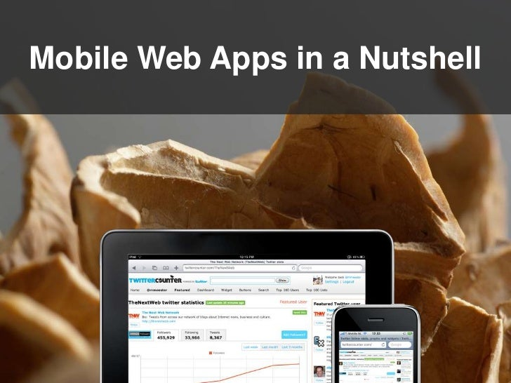 Mobile Web Apps in a Nutshell