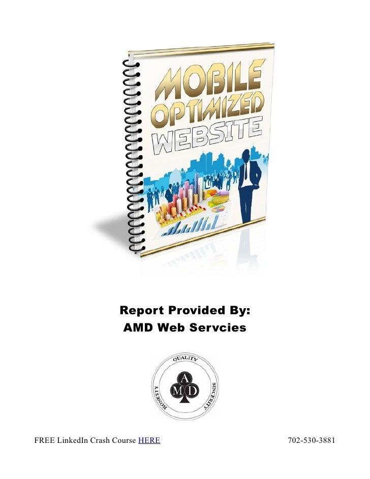 White paper: Mobile websites