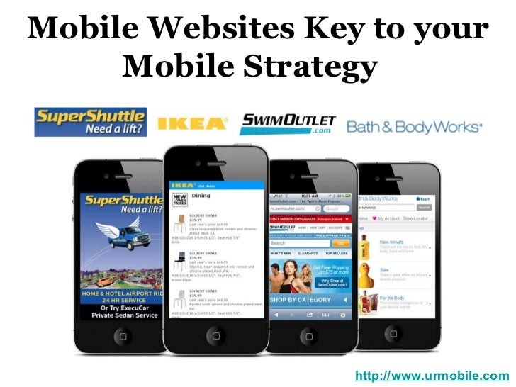Mobile Websites Key to your Mobile Strategy  http://www.urmobile.com