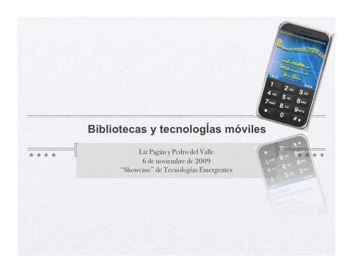 Mobile Web & BIblioteca EEA