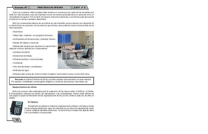 Mobiliarios y equipos de la oficina moderna for Oficina tradicional y moderna