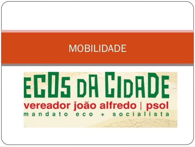 Sobre mobilidade em Fortaleza