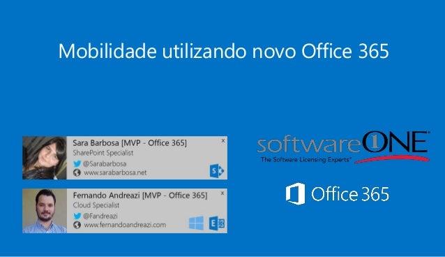 Mobilidade utilizando novo Office 365
