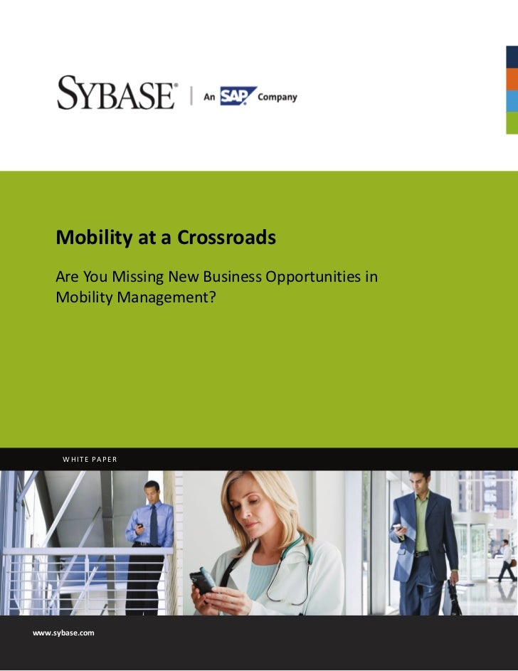 Mobility at a_crossroads