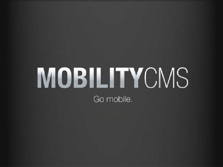 MobilityCMS