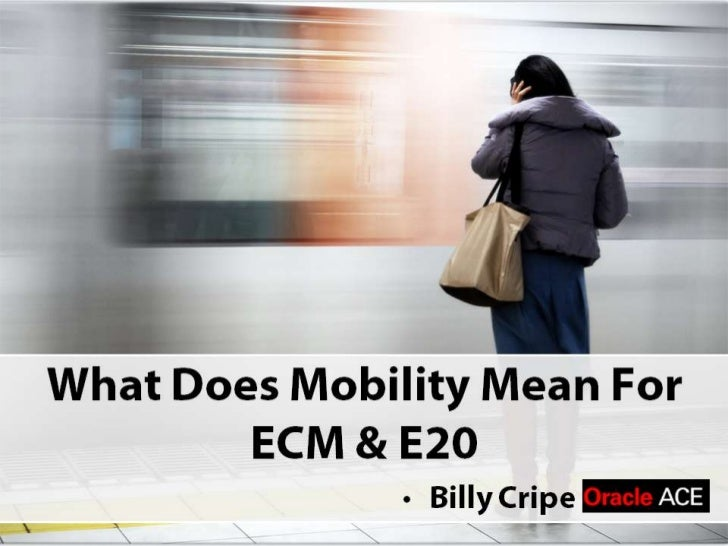 Mobility in the Enterprise