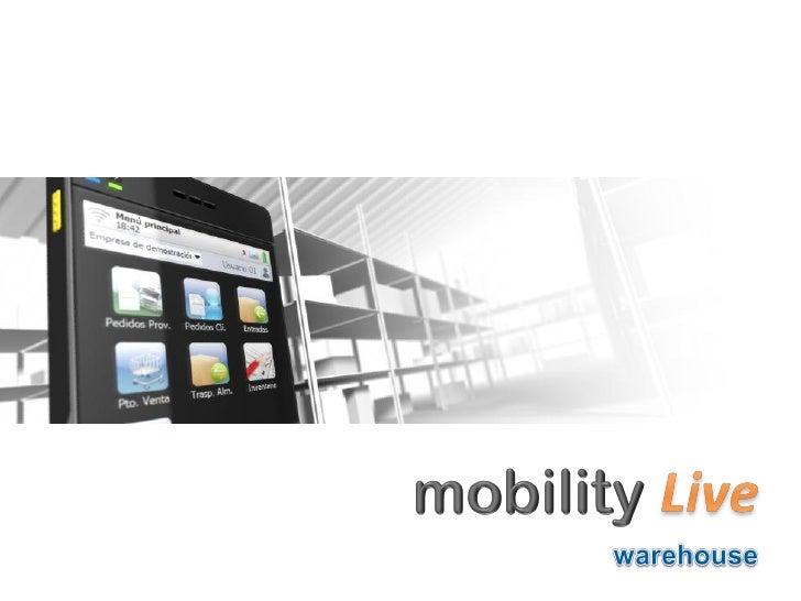 ¿ Por qué Mobility Live ?Hoy en día, cualquier empresa del mercado ya dispone de su software degestión pero en cambio muy ...