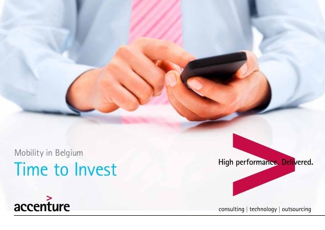 Mobility in BelgiumTime to Invest