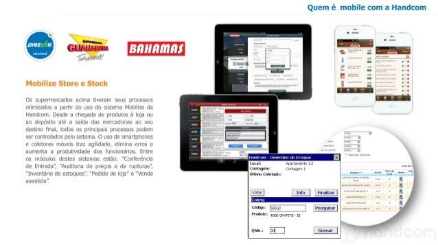Case aplicativos corporativos para o varejo: Mobilize Stock e Store