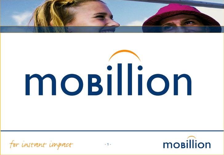 Mobillion 2008 Bedrijfspresentatie