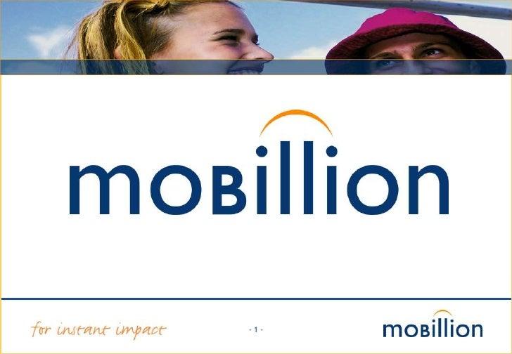 Mobillion Social Media Presentatie