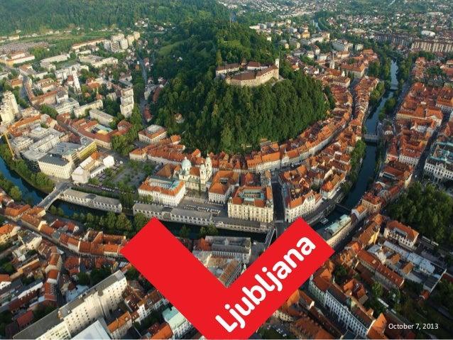 Ljubljana na mobilnih napravah- Uroš Černigoj
