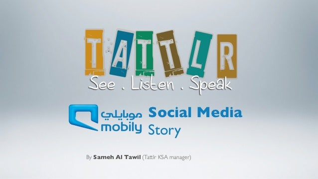 A                           L See . Listen . Speak                      Social Media                      StoryBy Sameh Al...