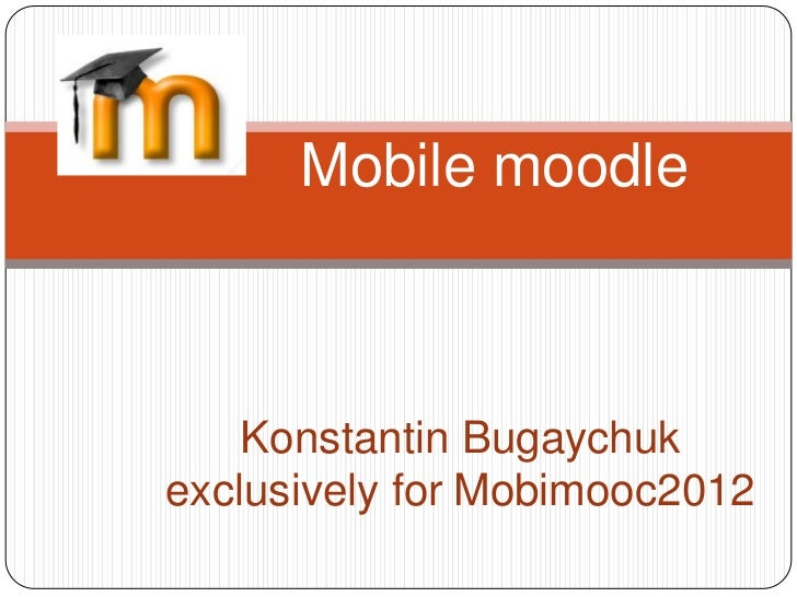 Mobimooc 1 moodle