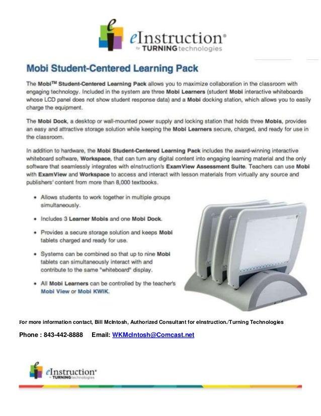 Mobi student centered learning pack