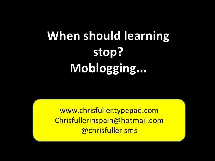 Moblogging - ILILC 2011
