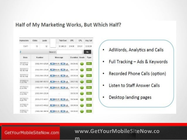Mobile Tracking and Analytics