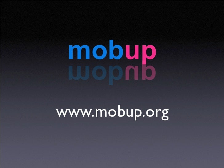 Mobup: use emotion as a driver for your mobile apps