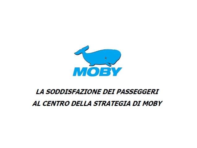 MOBY Traghetti Sardegna, Corsica ed Elba - Comunicato Stampa