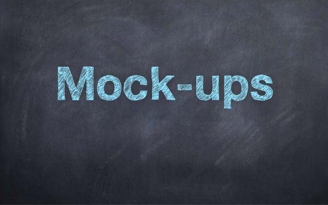 Workshop Mock-Ups