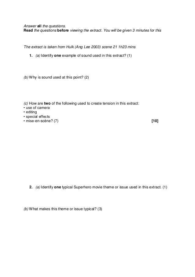 Mock exam 1
