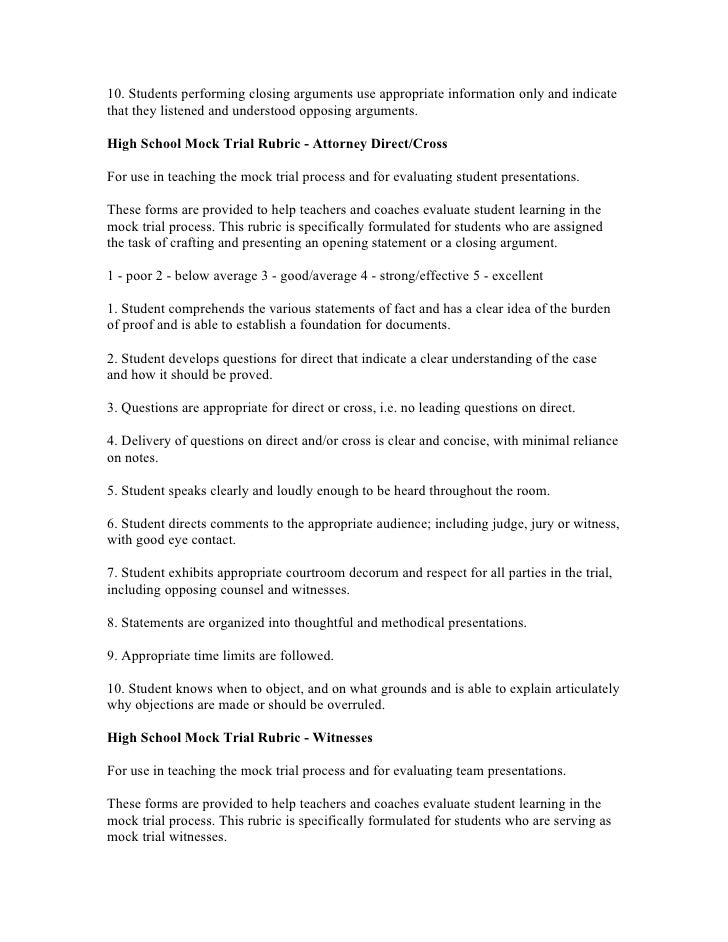mock trial closings essay research paper service vphomeworkvcmq