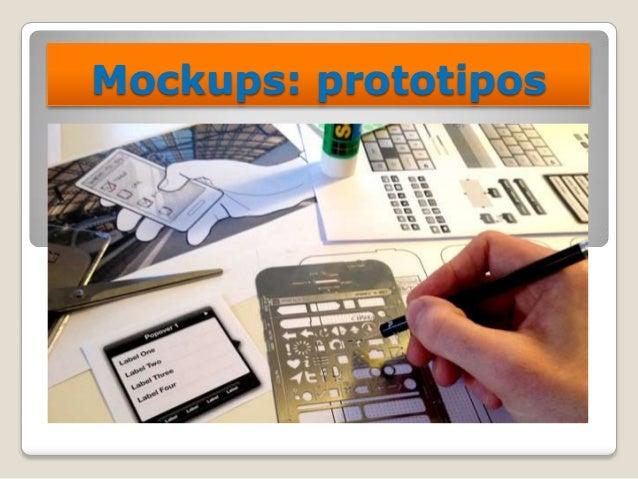 Mockups: prototipos