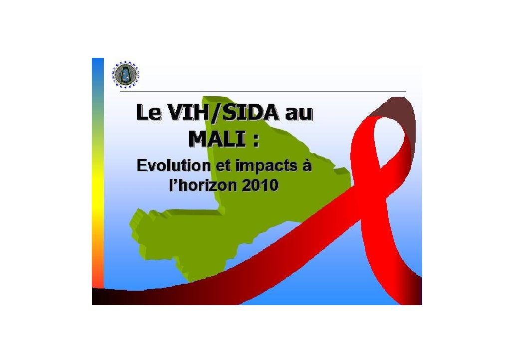 Le VIH / Sida au Mali : évolution et impacts à l'horizon du 2010