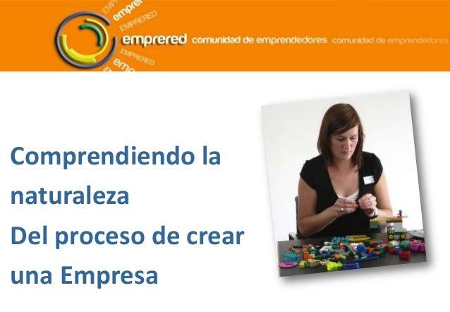 Mod 3  la naturaleza del proceso de creación de empresas effectuation