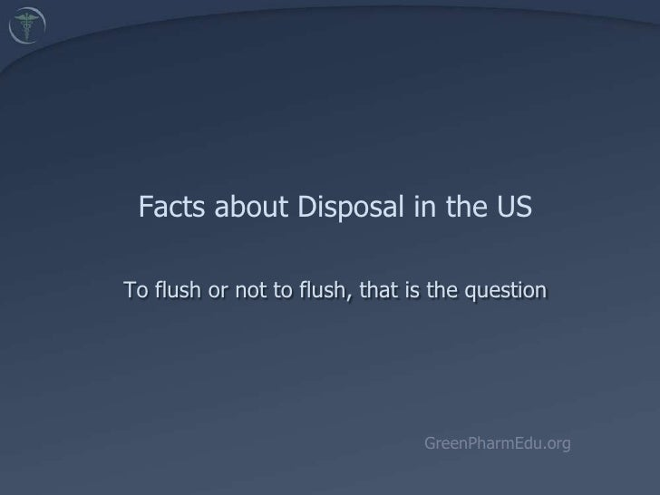 3.5. Facts About Disposal in the U.S. (Kreisberg)