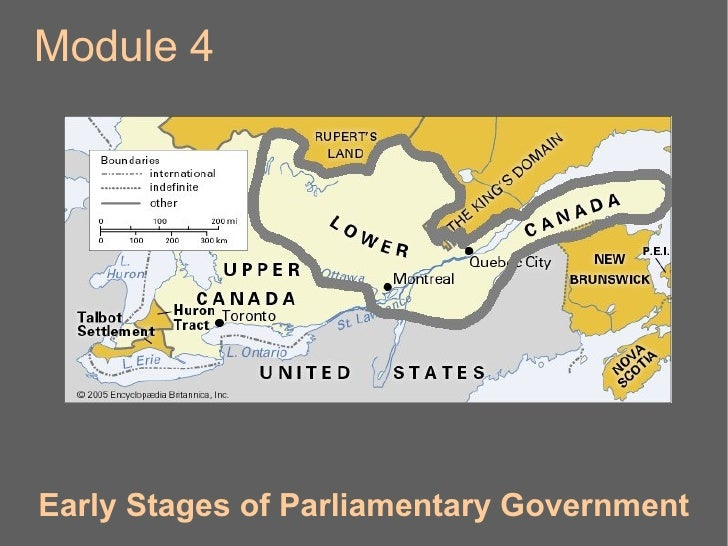Module 4 Early Stages of Parliamentary Government