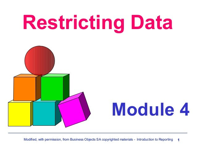Mod  4_restricting_data[1]