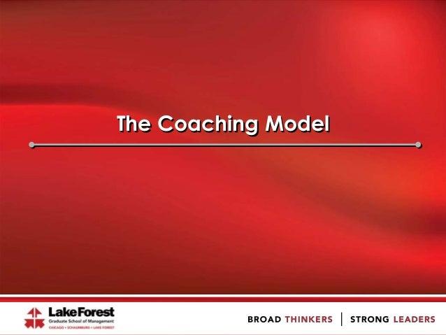 The Coaching Model