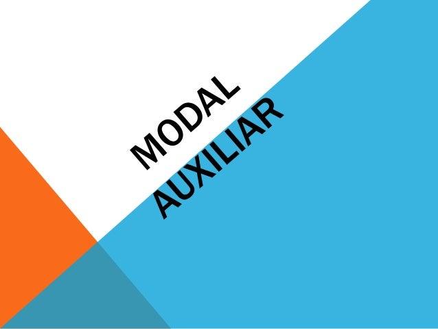 Modal auxiliar 301