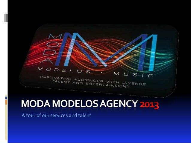 Moda Modelos Agency Presentation