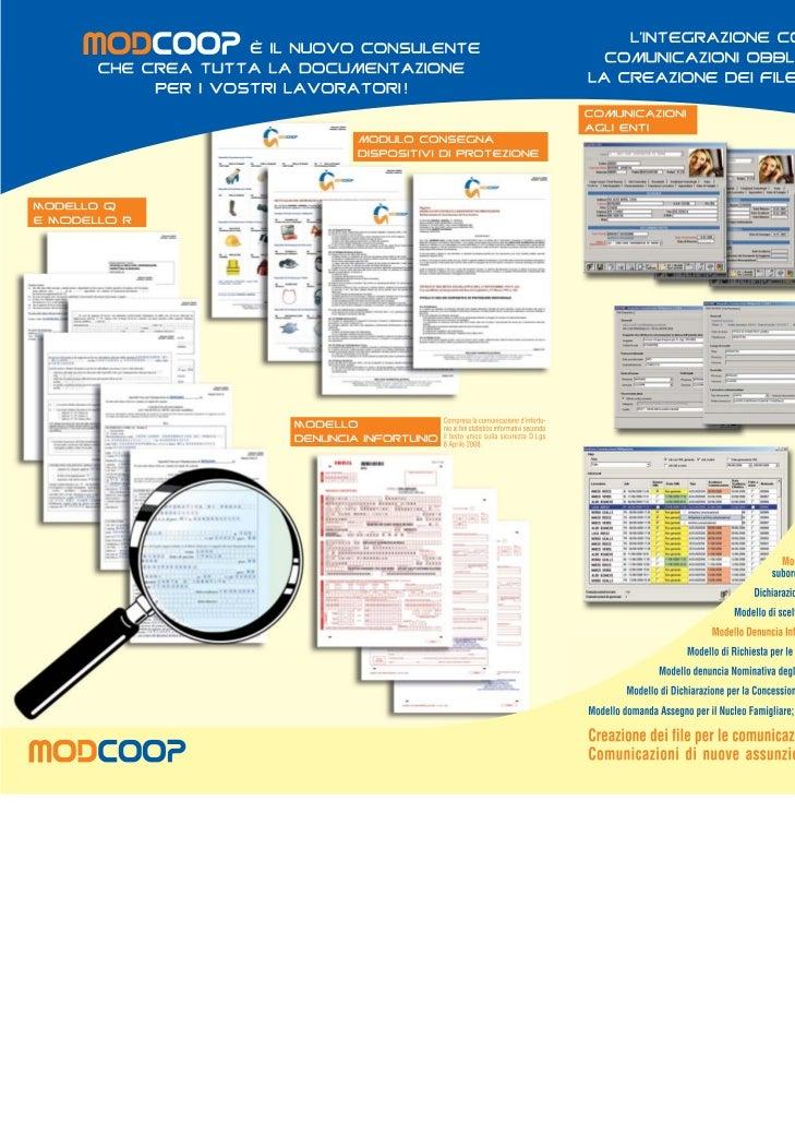 Gescoop - Presentazione Modcoop (modulistica lavoratori) e COEnti