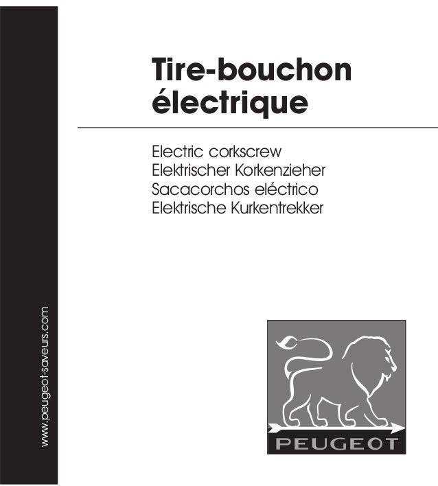 Tire-bouchon électrique Electric corkscrew Elektrischer Korkenzieher Sacacorchos eléctrico Elektrische Kurkentrekker www.p...