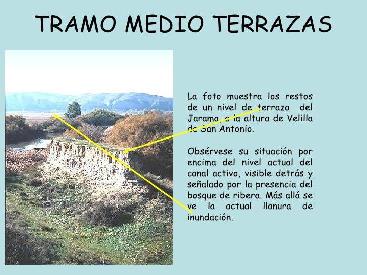 Modelado fluvial for Terrazas fluviales