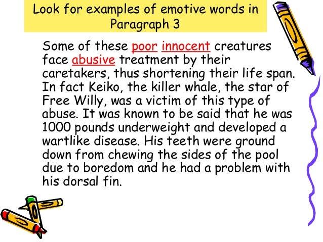 Words for argumentative essay