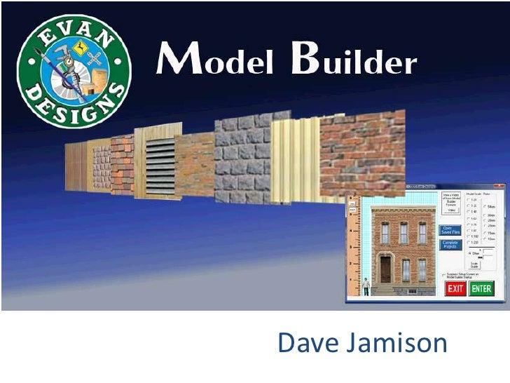 Model builder for Model Train Buildings